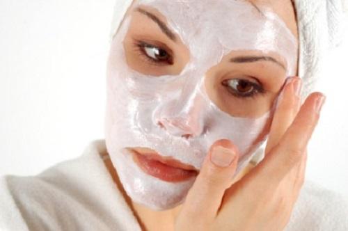 maschera viso crema