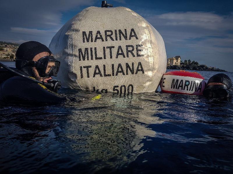 Marina Militare ordigni Sicilia