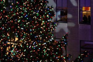 New York albero Natale Rockefeller center