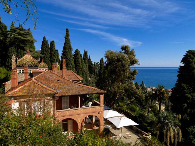 Villa della pergola un prezioso gioiello della riviera for Giardini foto ville
