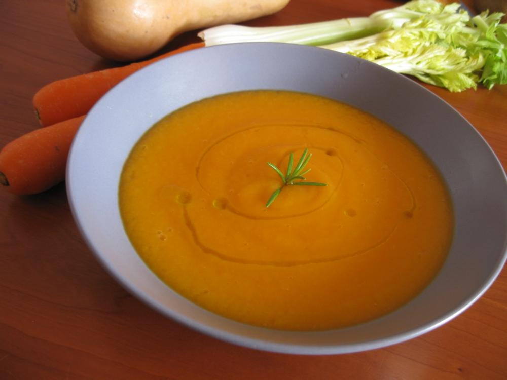 Vellutata di carote