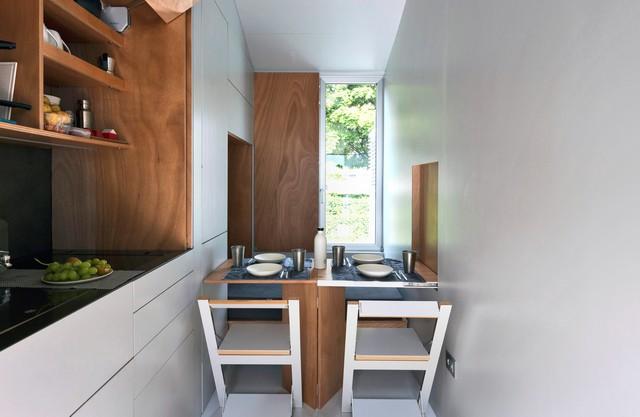 Vivere in 9 metri quadrati ecco avoid la prima tiny house mobile italiana gallery meteo web - Tiny house interni ...