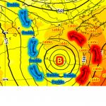 """Allerta Meteo massima per il weekend, situazione estrema al Sud: si sta formando un """"Uragano Mediterraneo"""" tra Sicilia, Malta, Tunisia e Libia"""