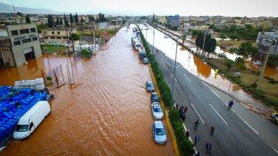 alluvione grecia