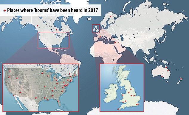 cartina boom misteriosi nel mondo