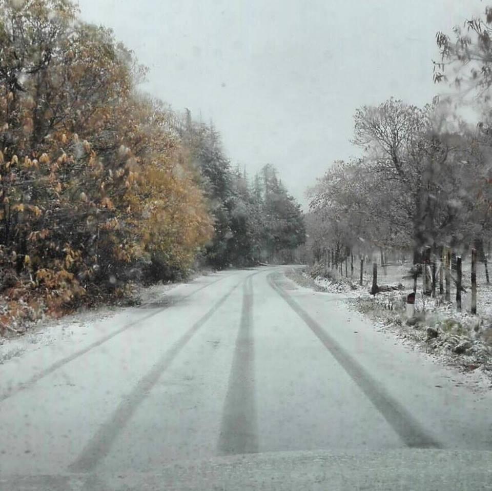 maltempo neve monte amiata