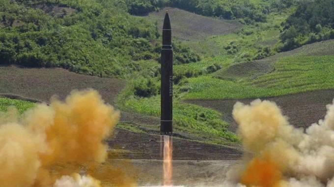 missile nucleare nord corea
