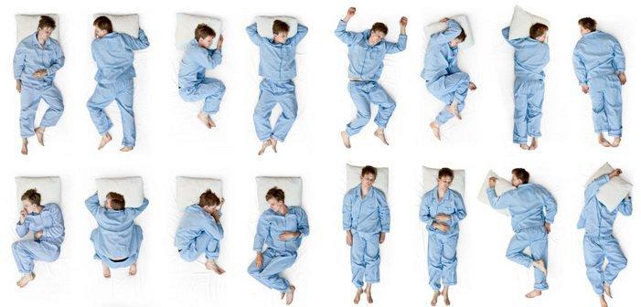 le posizioni de sonno