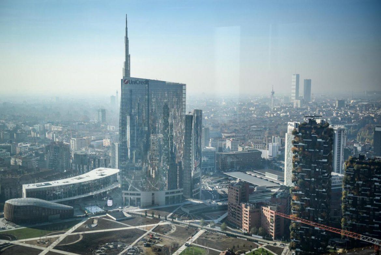 allarme smog Milano