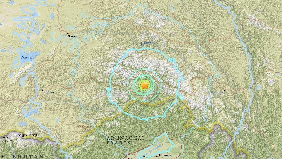 terremoto tibet