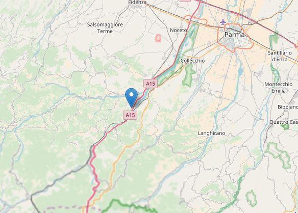 terremoto Parma Varano de' Melegari