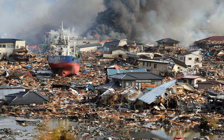 disastro tsunami giappone