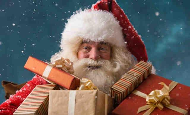 Babbi Natale.In Danimarca Il Congresso Mondiale Dei Babbo Natale