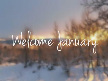 Buongiorno buon gennaio