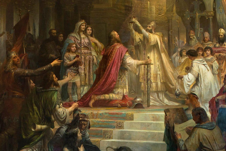 Carlo Magno incoronazione