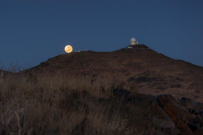 Superluna La Silla