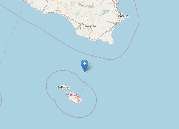 Terremoto Malta Sicilia