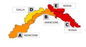 """Maltempo Liguria: situazione """"complicata"""" nel Levante, possibili scuole chiuse"""