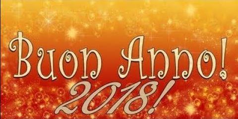 auguri Buon Anno Nuovo Felice 2018
