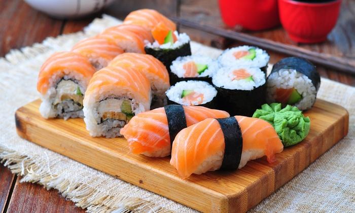 sushi a tavola