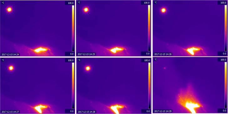 Stromboli, nuova eruzione in atto: trabocco lavico e spettacolare spattering dal cratere NE