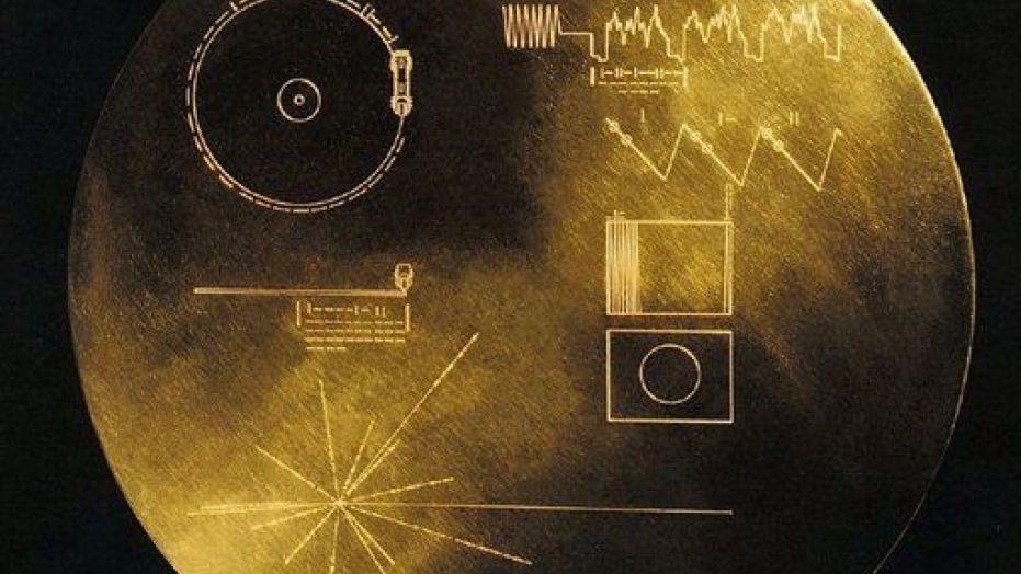 disco NASA nello spazio