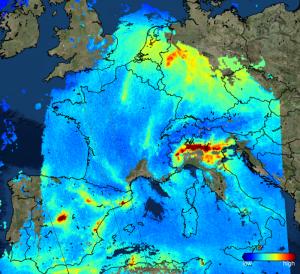 inquinamento europa smog sentinel