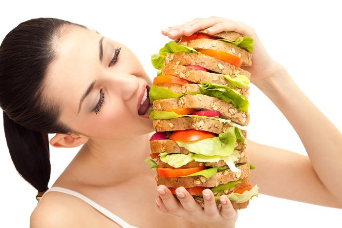 mangiare troppo