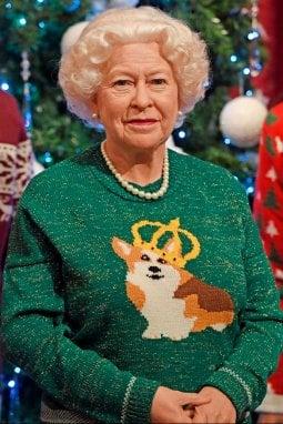 regina elisabetta maglione natalizio