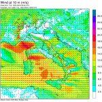 Allerta Meteo, inizia la violenta burrasca di ponente e maestrale: vento impetuoso, mareggiate, forti piogge e grandi sbalzi termici