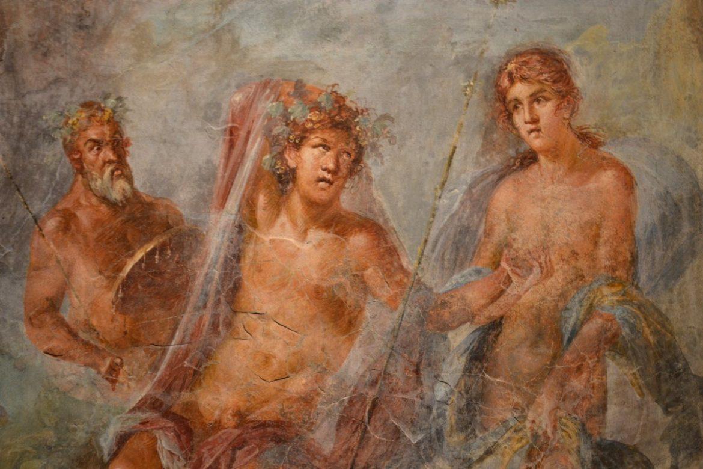 Bacco e Arianna Pompei
