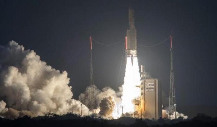 Il liftoff di Ariane 5