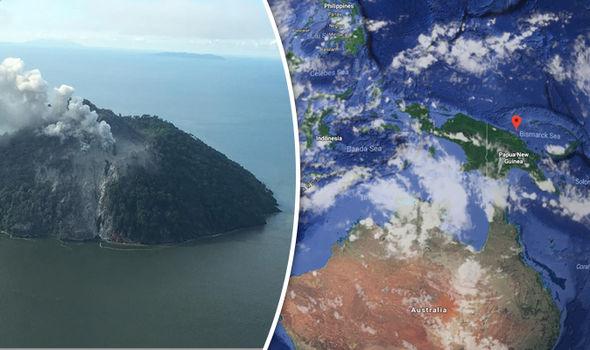 Papua Nuova Guinea, erutta l'isola di Kadovar: è la vetta sommersa di un enorme vulcano, migliaia di evacuati ...