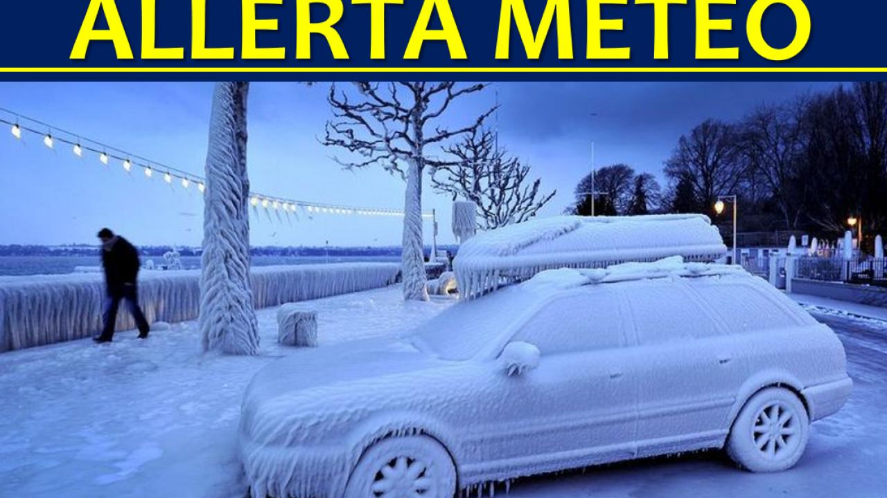 Che Tempo Fa A Casoria allerta meteo, inizia l'ondata di gelo: tanta neve al sud