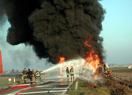 camion a21 incendio