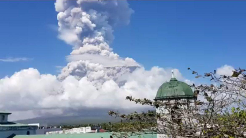Monte Mayon Filippine