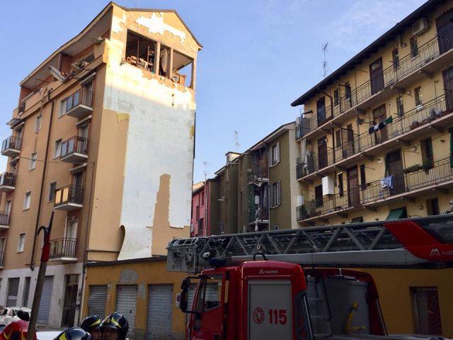 esplosione Sesto San Giovanni