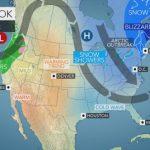 Allerta Meteo USA: l'ondata di aria gelida si intensifica nel weekend [MAPPE e AGGIORNAMENTI]