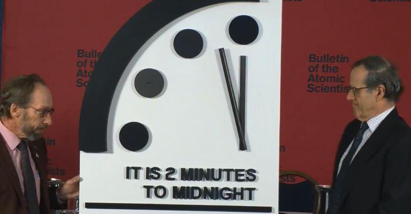 orologio apocalisse fine del mondo