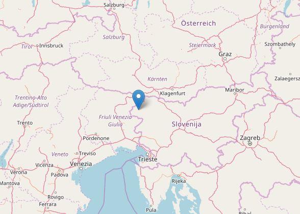 Scossa di terremoto al confine tra Italia e Slovenia [MAPPE e DATI INGV]