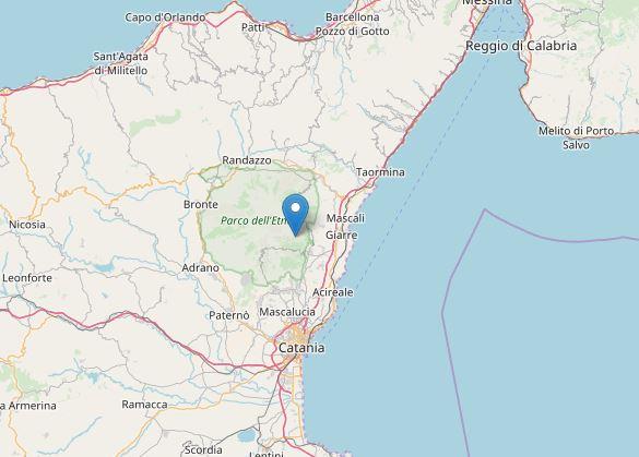 terremoto zafferata etnea