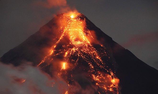 vulcano Mayon Filippine