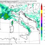 Allerta Meteo: super sciroccata porta NEVE e GELICIDIO sull'Italia: ecco le mappe del modello Moloch dell'ISAC-CNR