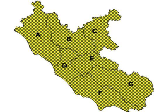Allerta Meteo Lazio 7 febbraio 2018
