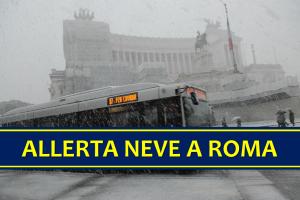 Allerta Neve Roma