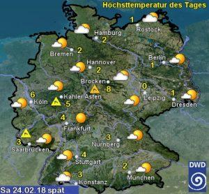 Allerta meteo Germania gelo