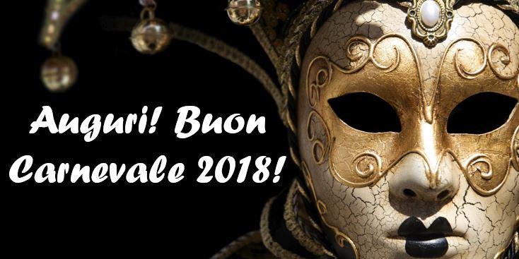 Buon Carnevale 2018 auguri immagini