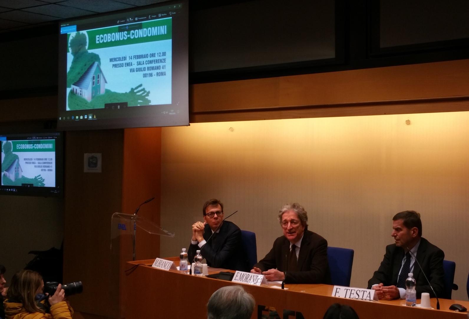 Enea, da Ecobonus 1 milione di interventi, risparmi sino al