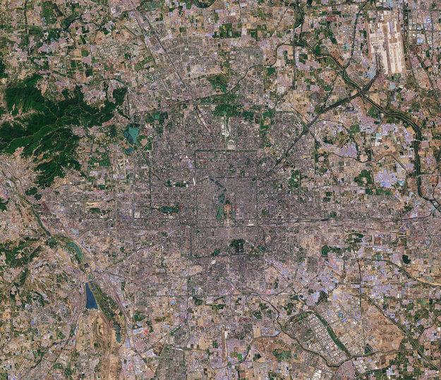 Pechino, immagine Sentinel-2