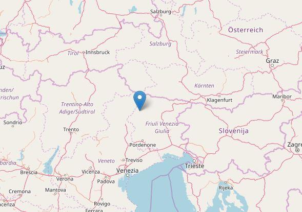 Terremoto Friuli veneto trentino alto adige